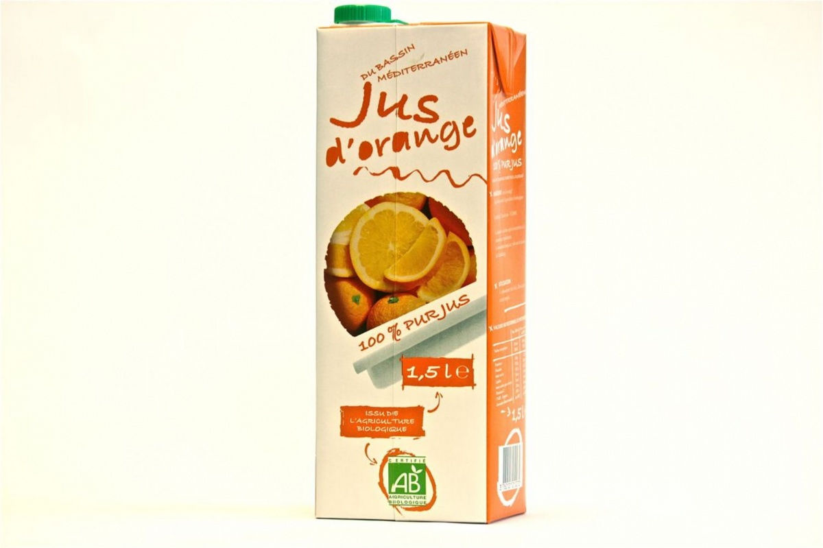 Jus d'orange tétra 1.5L